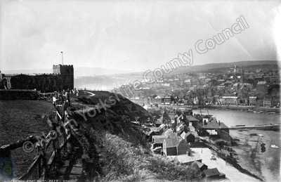 Whitby from the East Cliff